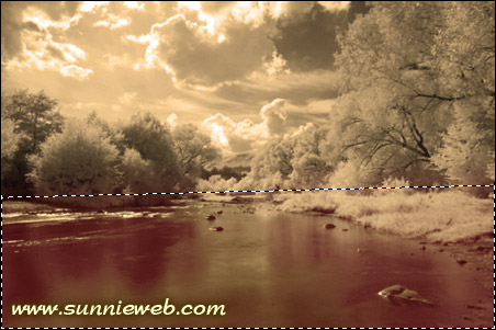 editing infrared photography