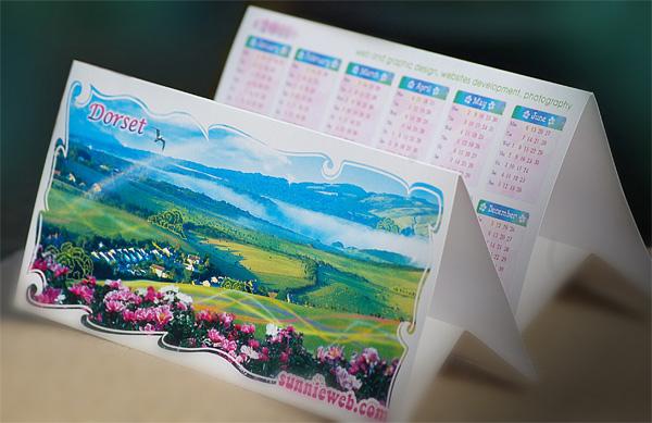 dorset desk calendar