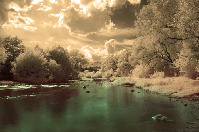 Infrared photo